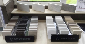 Caesarstone-samples-in-showroom
