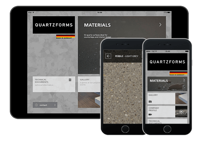 quartzforms design app